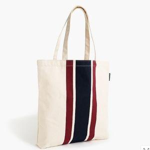 J. Crew Canvas Tote Bag